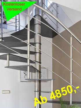 Spindeltreppen punkten als Blickfang | Treppenparadies