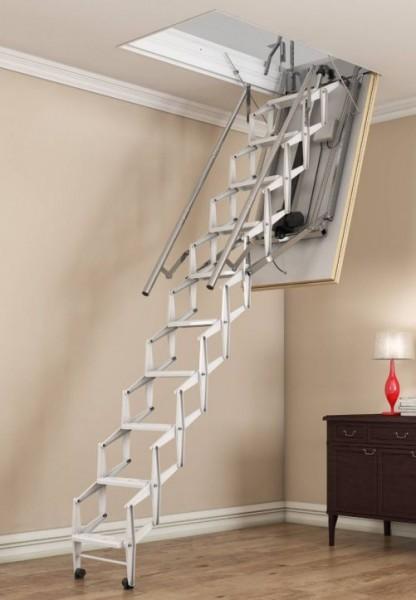 Dachbodentreppe Elektrische Scherentreppe elektro-top