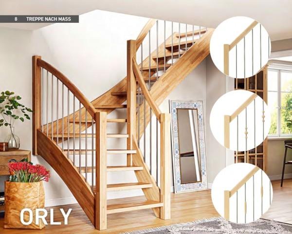 Orly - Geschosstreppe - gerader Verlauf