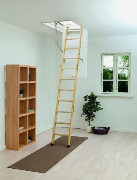 Dachbodentreppe ClickFIX - 3-teilig