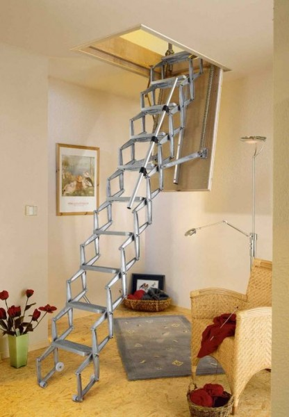 Dachbodentreppe Alu-Top-Elektrisch